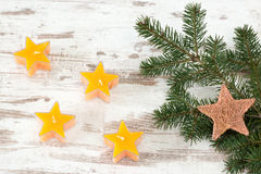 Advent stars Stock Images