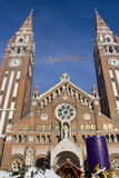 Advent in Szeged, Hungary Royalty Free Stock Photography