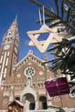 Advent in Szeged, Hungary Stock Photography