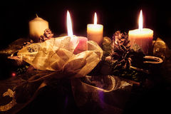 Advent. Third week of advent. The most beautiful period of the year Royalty Free Stock Photo