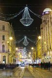 Advent time in Zagreb city Stock Photo