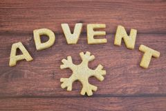 Advent, waiting for Christmas royalty free stock images
