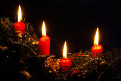 Advent wreath 20 Royalty Free Stock Images