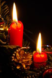 Advent wreath 21 Royalty Free Stock Images