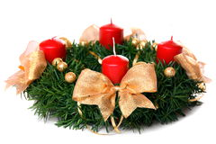 Advent wreath Stock Image