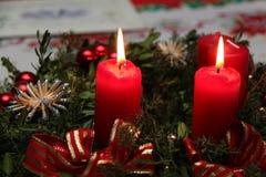Advent wreath Royalty Free Stock Photos