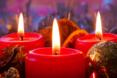 Advent wreath. Royalty Free Stock Photos