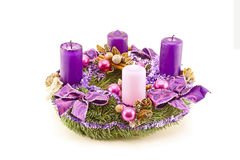 Advent wreath Stock Photography