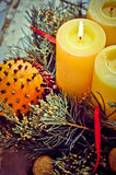 Advent Wreath Fotografia Stock