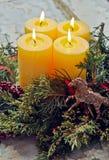 Advent Wreath Lizenzfreies Stockbild
