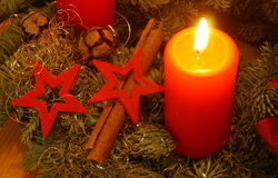 Advent Wreath Imagem de Stock