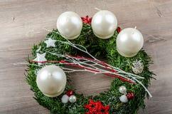 Advent Wreath Foto de archivo libre de regalías