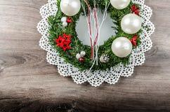 Advent Wreath Fotos de archivo libres de regalías