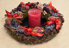 Advent Wreath Stockbild