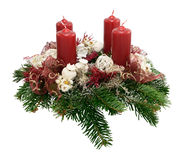 Advent Wreath Royalty-vrije Stock Afbeelding