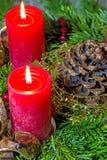 Advent Wreath Lizenzfreies Stockfoto