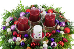 Advent Wreath Immagini Stock