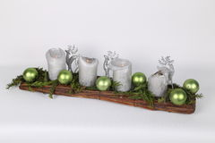 Advent Wreath Imagenes de archivo