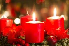 Advent Wreath Imagem de Stock