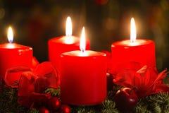 Advent Wreath Fotografia de Stock Royalty Free