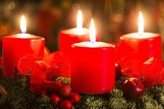 Advent Wreath Imagem de Stock Royalty Free