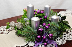 Advent Wreath Stockbilder