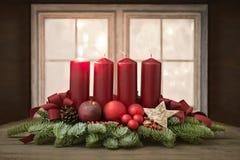 Advent Wreath Fotografía de archivo