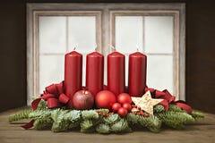 Advent Wreath Stockfoto