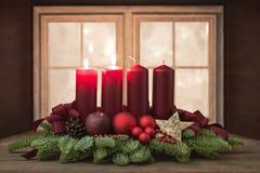 Advent Wreath Imagen de archivo libre de regalías