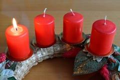 Advent Wreath Imagen de archivo