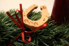 Advent Wreath Lizenzfreies Stockbild