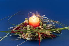 Advent Wreath Lizenzfreie Stockfotos