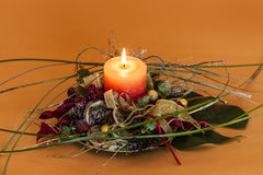 Advent Wreath Lizenzfreie Stockbilder