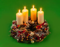 Advent Wreath Stockbilder