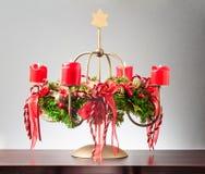 Advent Wreath Stockbild