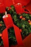 Advent Wreath Lizenzfreie Stockbilder