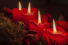 Advent Wreath Fotos de archivo