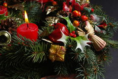 Advent wreath Royalty Free Stock Photos