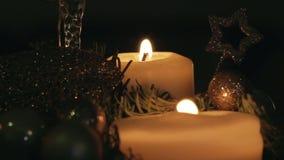 Advent wreath stock footage