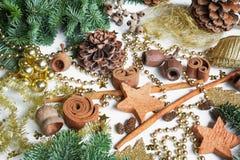 Advent wreath, DIY, divers materials, decoration Stock Image