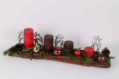 Advent wreath Royalty Free Stock Images