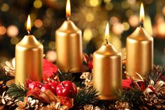 Advent wreath Stock Photos