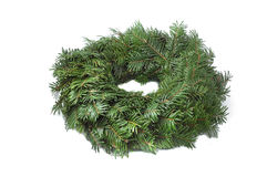 Advent wreath green not decorated Royalty Free Stock Image