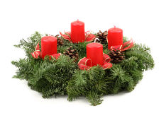 Advent wreaths Stock Photo