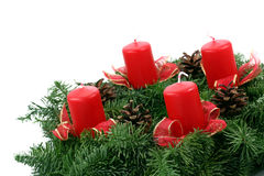Advent wreaths Royalty Free Stock Photography