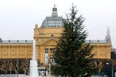 Advent In Zagreb, Croacia Imagenes de archivo