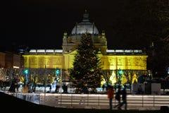 Advent In Zagreb, Croacia fotos de archivo libres de regalías
