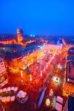 Advent In Zagreb, Croacia Imagen de archivo