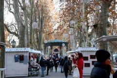 Advent in Zagreb, Croatia stock photos