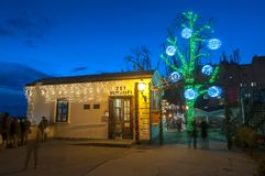 Advent In Zagreb, Croatie images libres de droits